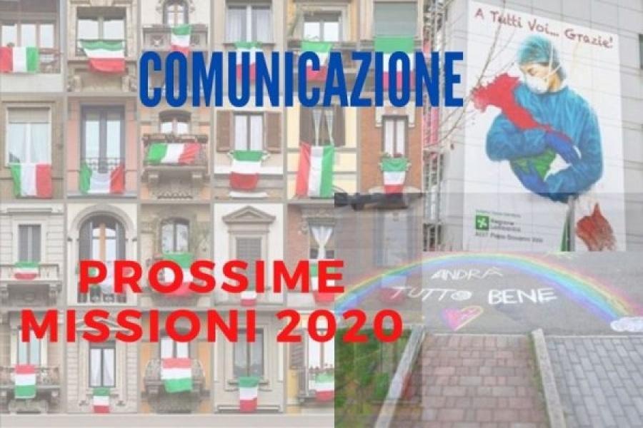 Prossime Missioni 2020
