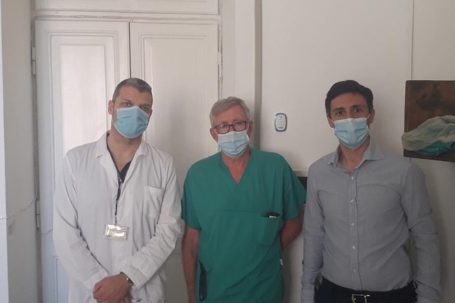 Donazione ferri chirurgici